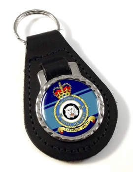 No. 141 Squadron Leather Key Fob