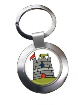 170 (Infrastructure Support) Engineer Group Chrome Key Ring