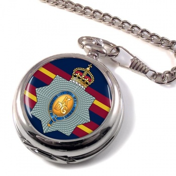 1st The King's Dragoon Guards Pocket Watch