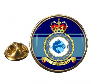 No. 1 Photographic Reconnaissance Unit Round Pin Badge