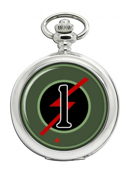 1st Armoured Car Squadron (Ireland) Pocket Watch