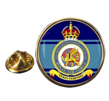No. 229 Group Headquarters Transport Command Round Pin Badge