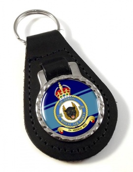 No. 258 Squadron Leather Key Fob