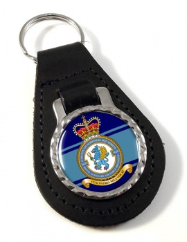 RAuxAF Regiment No. 2620 Leather Key Fob