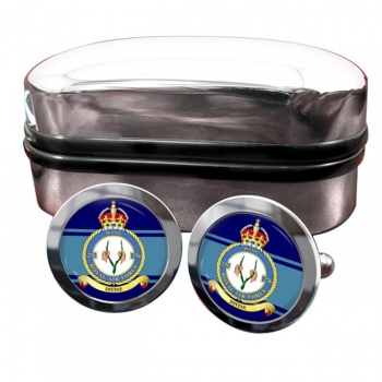 No. 276 Wing Headquarters Round Cufflinks