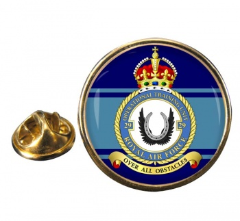 No. 29 Operational Training Unit Round Pin Badge