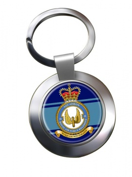 Royal Air Force Regiment No. 2 Chrome Key Ring