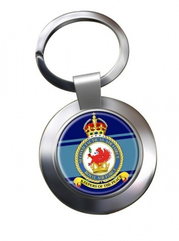 2nd Tactical Air Force Chrome Key Ring