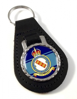 No. 342 French Squadron Leather Key Fob