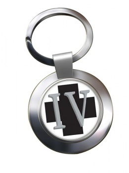 4 Medical Regiment Chrome Key Ring