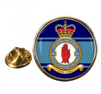 No. 502 Squadron RAuxAF Round Pin Badge