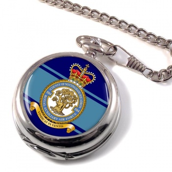 No. 504 Squadron Royal Auxiliary Air Force (RAuxAF) Pocket Watch
