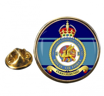 No. 5 Transport Command Ferry Unit Round Pin Badge