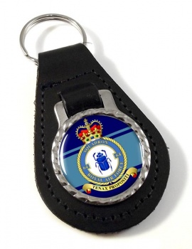 No. 64 Squadron Leather Key Fob