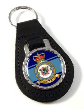 No. 7 Force Protection Wing Leather Key Fob