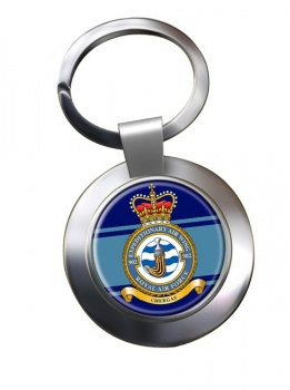 No. 902 Expeditionary Air Wing Chrome Key Ring