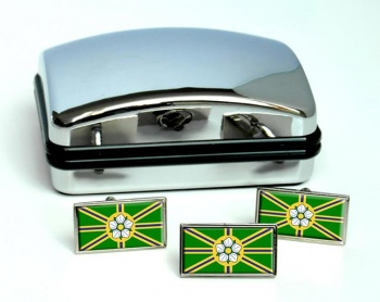 Abbotsford (Canada) Flag Cufflink and Tie Pin Set
