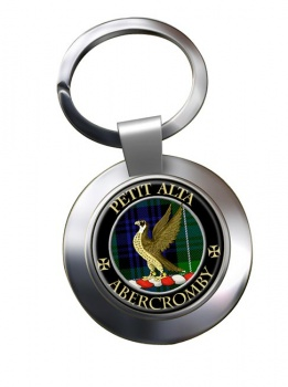 Abercromby Scottish Clan Chrome Key Ring