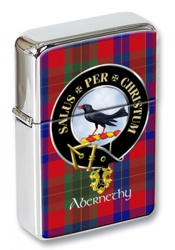 Abernethy Scottish Clan Flip Top Lighter
