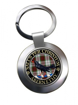 Abernethy Scottish Clan Chrome Key Ring