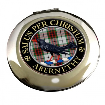 Abernethy Scottish Clan Chrome Mirror