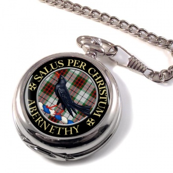Abernethy Scottish Clan Pocket Watch