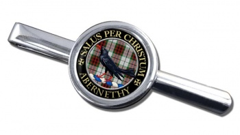 Abernethy Scottish Clan Round Tie Clip