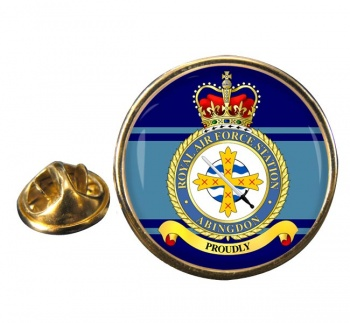 Abingdon Round Pin Badge