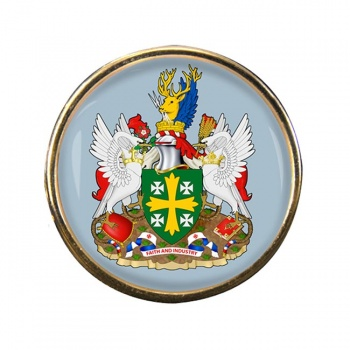 Abingdon (England) Round Pin Badge