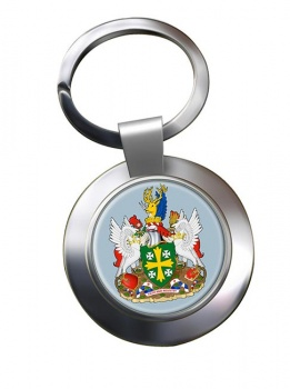 Abingdon (England) Metal Key Ring