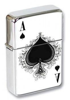 Ace of Spades Flip Top Lighter