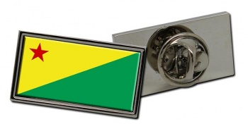 Acre (Brasil) Flag Pin Badge