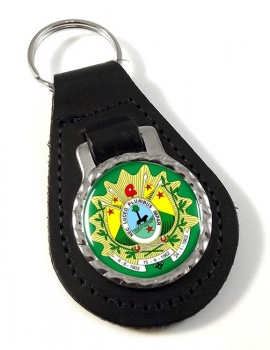 Acre (Brasil) Leather Key Fob