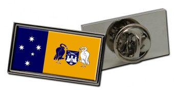 Australian Capital Territory ACT Flag Pin Badge