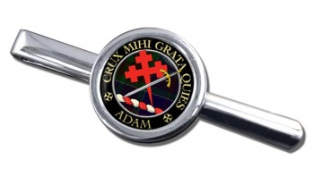 Adam Scottish Clan Round Tie Clip