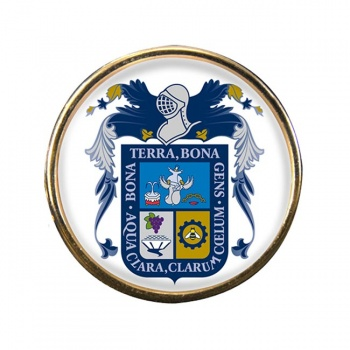 Aguascalientes (Mexico) Round Pin Badge