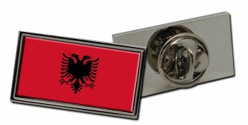 Albania Flag Pin Badge