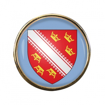 Alsace (France) Round Pin Badge