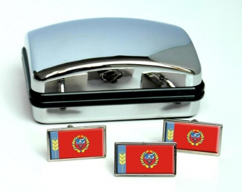 Altai Krai Flag Cufflink and Tie Pin Set