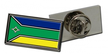 Amapa  (Brasil) Flag Pin Badge
