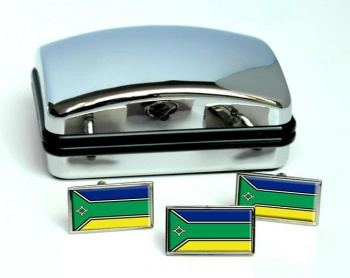 Amapa  (Brasil) Flag Cufflink and Tie Pin Set