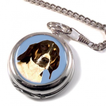 American Foxhound Pocket Watch