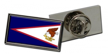American Samoa Flag Pin Badge