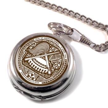 American Samoa Pocket Watch