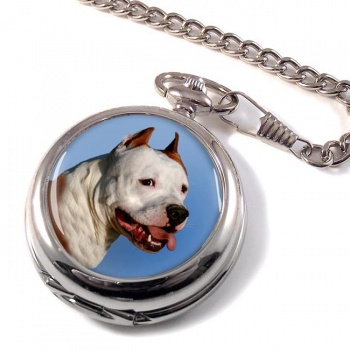 American Staffordshire Terrier Pocket Watch