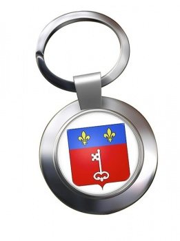 Angers (France) Metal Key Ring