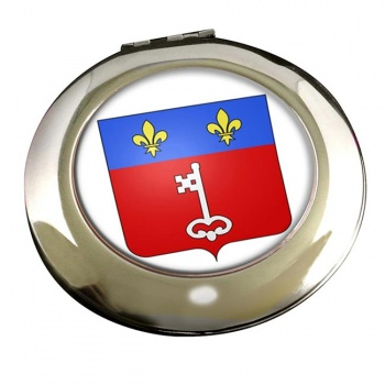 Angers (France) Round Mirror