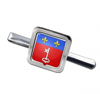 Angers (France) Square Tie Clip