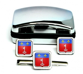 Angers France Square Cufflinks