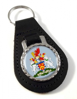Anglesey Leather Key Fob